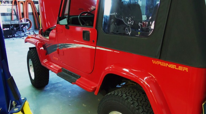 Improve The Cooling Of Your Wrangler, Part 1: Fabrication Work