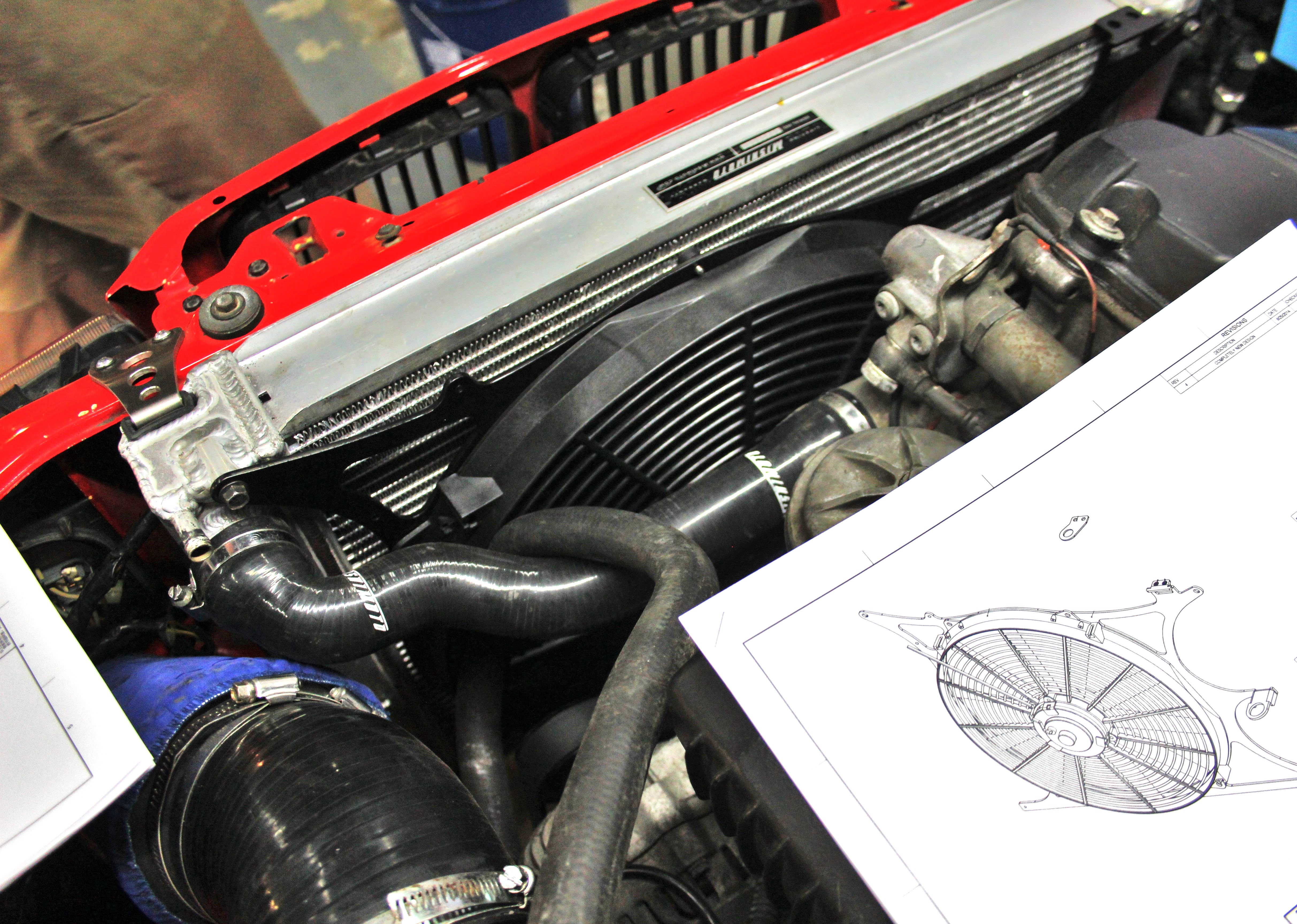Keeping The E36 Cool  Part 3  Final Prototype