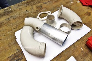 3D-printed prototype components