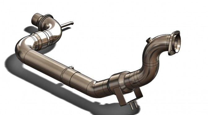Unleashing The EcoBoost. Downpipe Development, Part 2: 3D Printing and Initial Prototype