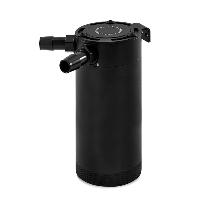 Mishimoto XL Compact Baffled Oil Catch Can, 2-Port
