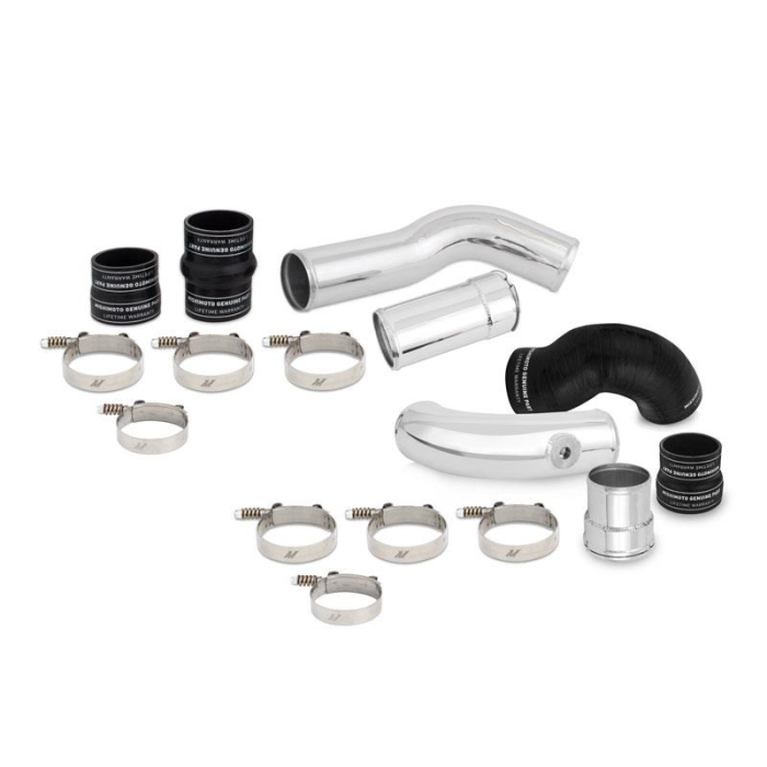 Ford 6.7L Powerstroke Intercooler Pipe and Boot Kit, 2011-2016