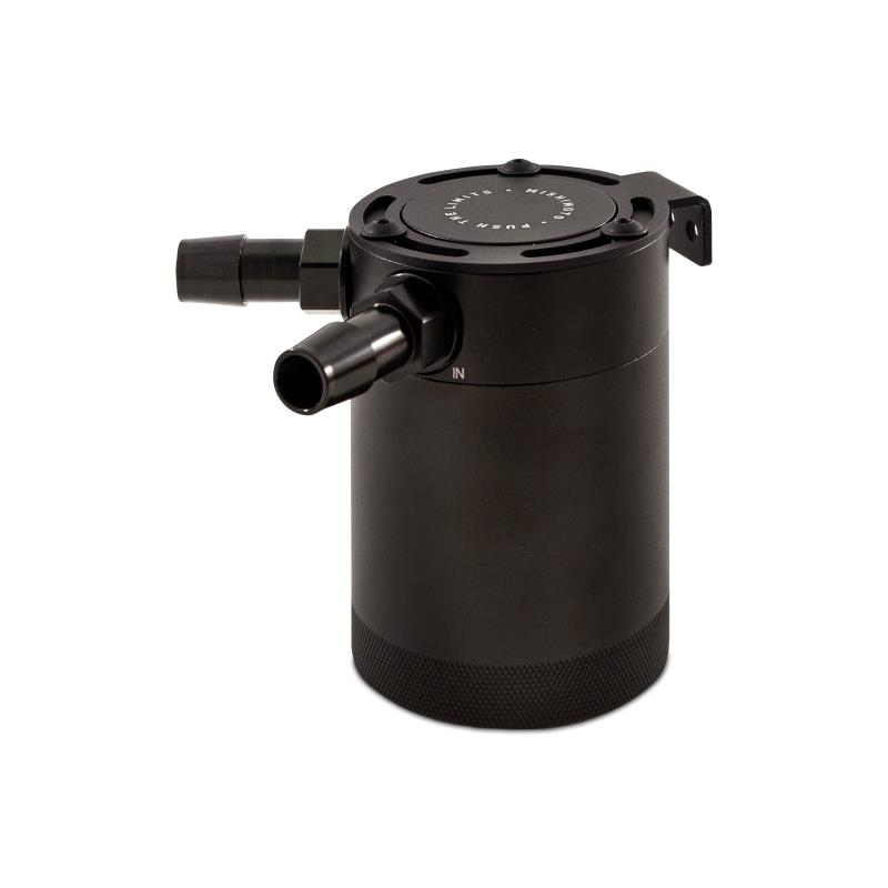 MMBCC-MSTWO-BK Tank Mishimoto Universal 2-Port Compact Baffled Oil Catch Can