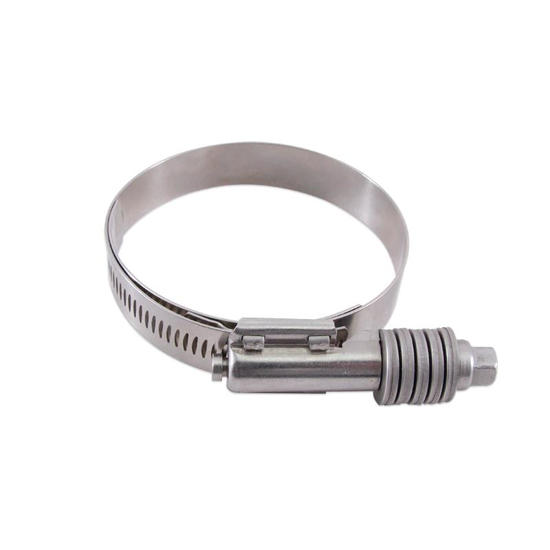 """Mishimoto Constant Tension Worm Gear Clamp, 3.74"""" – 4.61"""" (95mm – 117mm)"""
