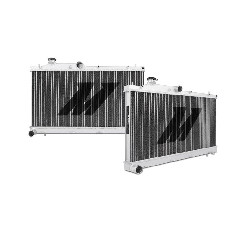 "Mishimoto 21.8"" x 28.0"" Single Pass 3-Row Race Aluminum Radiator"