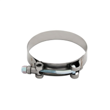 "Mishimoto Stainless Steel T-Bolt Clamp, 2.12"" – 2.44"" (54mm – 62mm)"