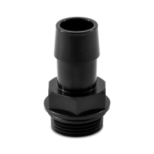 "Mishimoto M27x2.0 to 3/4"" Hose Barb Aluminum Fitting"