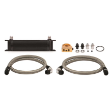 10-Row Universal Oil Cooler Kit