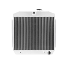 Chevrolet Bel-Air Inline 6 3-Row Performance Aluminum Radiator, 1955-1957