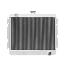"Dodge Challenger Small Block 3-Row Performance Aluminum Radiator w/ 22"" Core, 1970–1971"