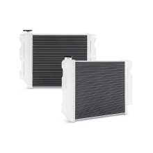 Jeep Wrangler YJ & TJ with Chevrolet V8 LS Engine Swap Aluminum Performance Radiator, 1987–2004