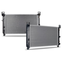 "Chevrolet Silverado 1500 4.8L/5.3L/6.2L with a 28 1/4"" Core & w/o EOC Replacement Radiator, 1999-2011"