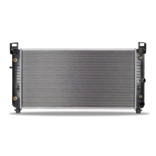 """Chevrolet Suburban w/ 34"""" Core, Transmission Oil Cooler, and Engine Oil Cooler Replacement Radiator, 2000-2013"""