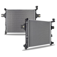 Jeep Commander 3.7L/4.7L Replacement Radiator, 2006-2010