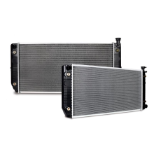 """Chevrolet Blazer 5.7L V8 with HD Cooling and 34"""" Core Replacement Radiator, 1992-1993"""