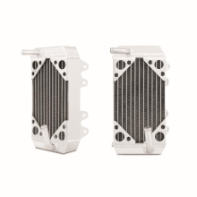 Honda CRF150R Braced Aluminum Dirt Bike Radiator, Left, 2007-2009