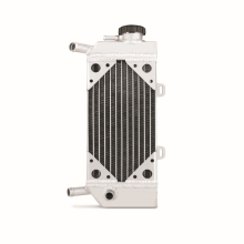 Honda CRF250R/X Right Braced Aluminium Dirt Bike Radiator, 2004-2009