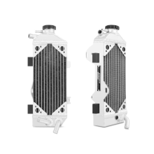 Honda CRF250R Braced Aluminum Dirt Bike Radiator, Right, 2010-2013