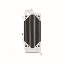 Kawasaki KX450F Braced Aluminum Dirt Bike Radiator, Left, 2010-2012