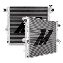 Jeep Wrangler JK HEMI Conversion Performance Aluminum Radiator, 2007–2018