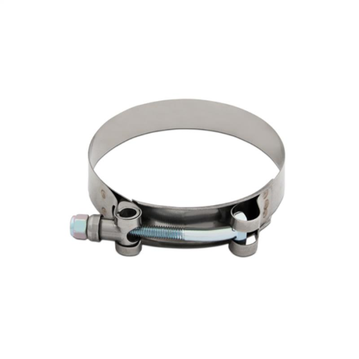 """Mishimoto Stainless Steel T-Bolt Clamp, 1.89""""–2.12"""" (48MM–54MM)"""