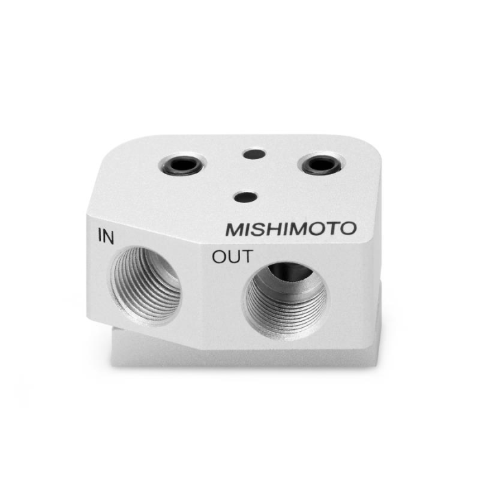 Mishimoto LS1/LS2 Front-Sump Oil Cooler Adapter