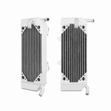 Honda CRF450X Left Braced Aluminum Dirt Bike Radiator, 2005-2013