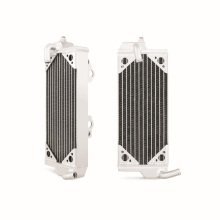 Suzuki RMZ250 Braced Aluminum Radiator, Left, 2007-2009