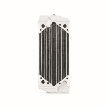 Suzuki RMZ250 Braced Aluminum Radiator, Left, 2010-2012