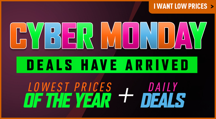 Black Friday Savings Deals Cyber Monday